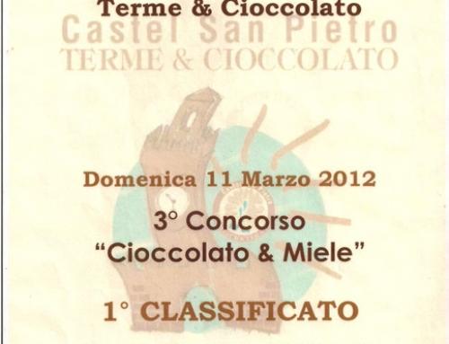 """1° classificato """"Arlotti & Sartoni"""" – Concorso """"Cioccolato & Miele"""""""