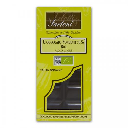 cioccolato fondente bio 70