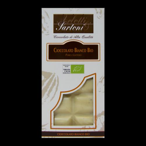 Cioccolato Bianco BIO – Puro e Lattoso